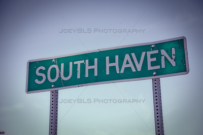 South Haven, Indiana Sign