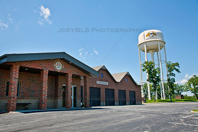 St John, Indiana Water Tower and Public Utilities