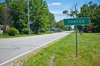 Thayer, Indiana on the Kankakee River