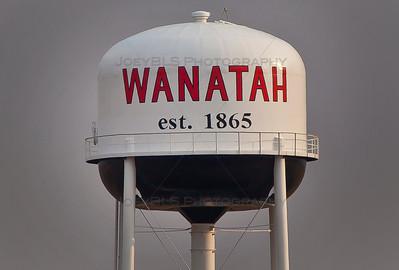 Wanatah, Indiana Water Tower