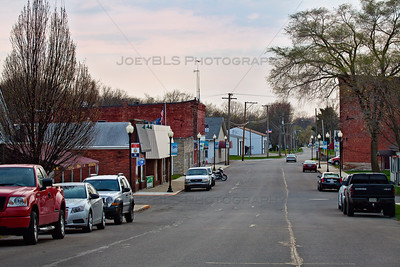 Downtown Westville, Indiana