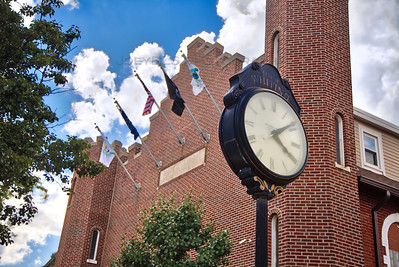 Downtown Whiting, Indiana Clock