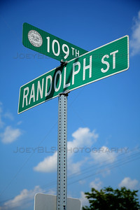 Randolph and 109th in Winfield, Indiana