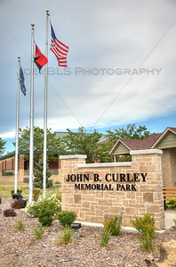 John B. Curley Memorial Park in Winfield, Indiana