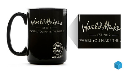 Product - World Makers - Engraved Mug