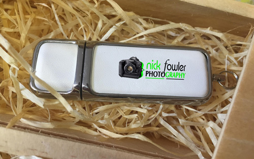 8GB USB Light-Wood 4x6 Print Box 2