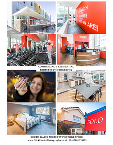 Commercial and Residential property photographer in Wales