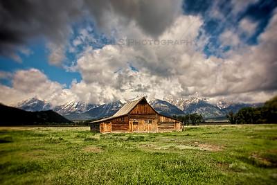 T.A. Moulton Barn on Mormon Row at Grand Teton National Park
