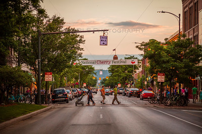 National Cherry Festival Evening in Downtown Traverse City