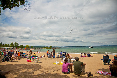 Air Show in Traverse City, Michigan