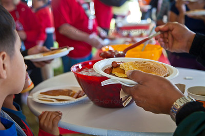 Pancake Breakfast at the National Cherry Festival