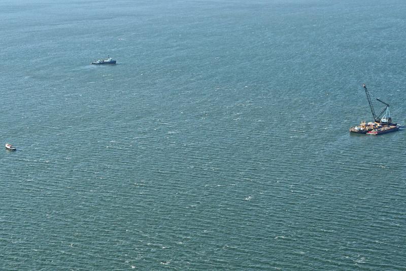 UCC Off Shore Aerial Shoot