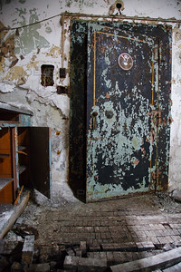 Gary, Indiana Abandoned Post Office Safe Vault