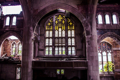 City Methodist Church Stained Glass Windows