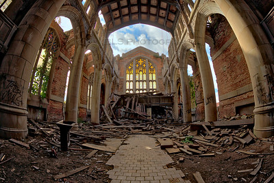 City Methodist Church with Fallen Ceiling