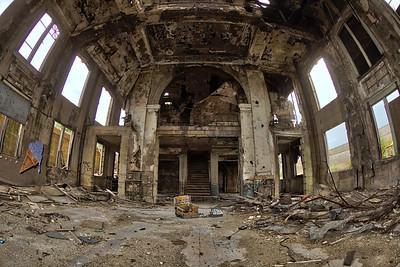 Gary, Indiana Old Union Station