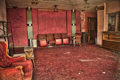 Highland, Indiana Town Theater Lobby