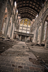 The Cathedral of the City Methodist Church in Gary, Indiana