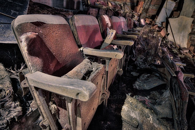 Abandoned Theater Seats