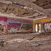 Panoramic of an Abandoned Room in Gary, Indiana