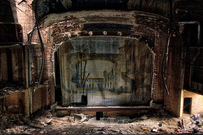 The Abandoned Palace Theater in Gary, Indiana