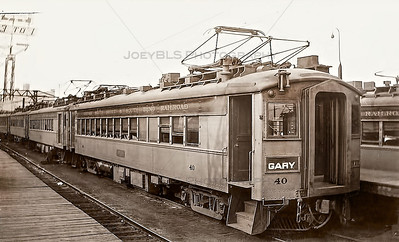 Vintage South Shore Railroad Photograph