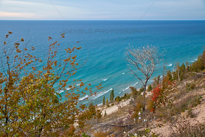 Arcadia Overlook Inspiration Point Dune in Western Michigan
