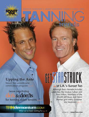 <font color=blue><h2>Tanning Trends Magazine