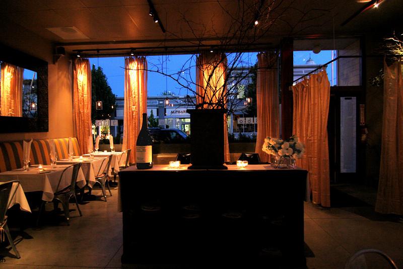 3BO Restaurant   Petaluma, CA.