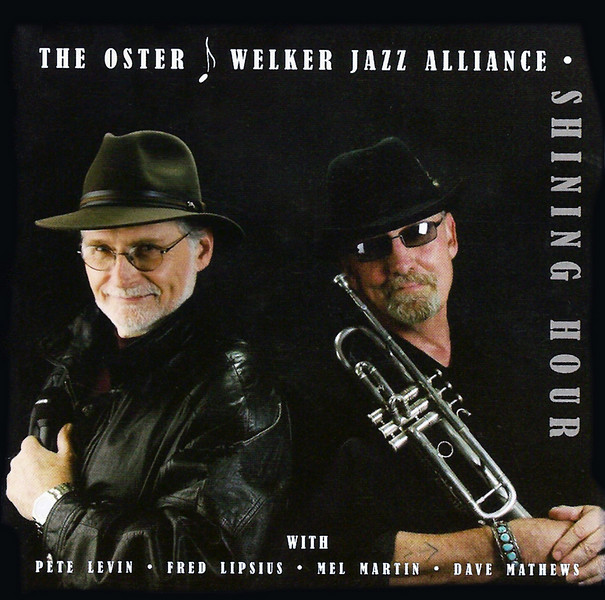 Jeff Oster and Peter Welker's CD cover.