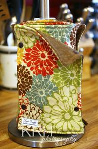Flowers 9 unpaper towels