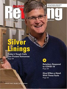 Editorial cover for Hardware Retailing magazine