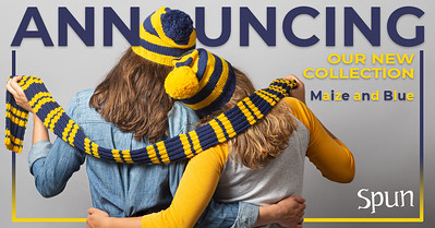Product launch - new themed knit kits for fall