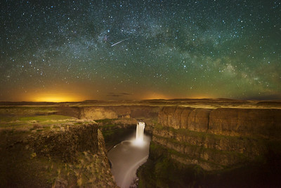 Palouse Falls Milky Way Arch
