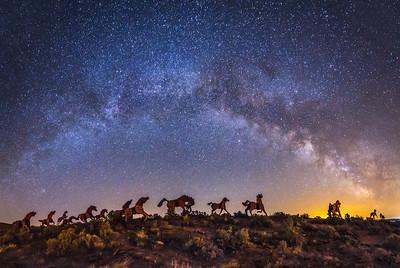 Wild Horses Monument - Galactic Stampede