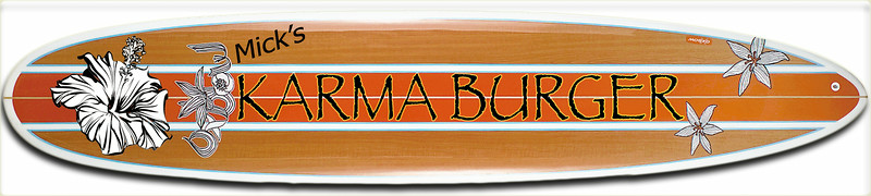 Karma Burger Robert's Logo