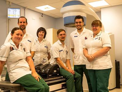 Radiographers, Weston Park Hospital