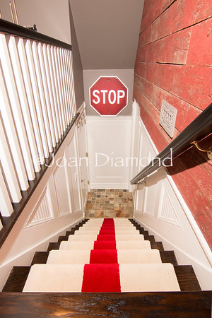 Shrewsbury Man cave Staircase