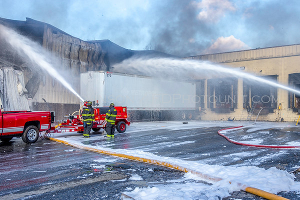 Commercial Structure Fire / HazMat  with  civilian fatality  and FF injuries  -  463 Temple Hill Road - Vails Gate Fire District 11/20/2017