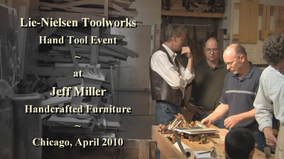 Lie-Nielsen Hand Tool Event Chicago 2010