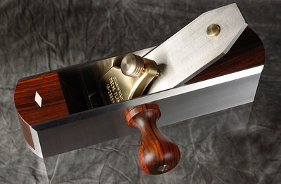 Rosewood Shooting Board Plane