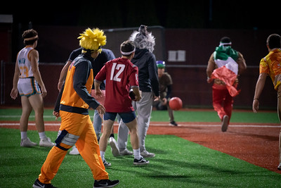 Baseball vs. Soccer Halloween game 2019