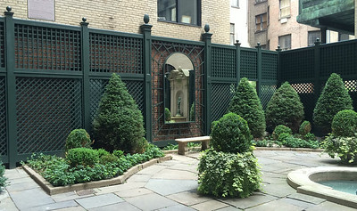 286 - 463687 - New York NY - Custom Lattice with Mirror