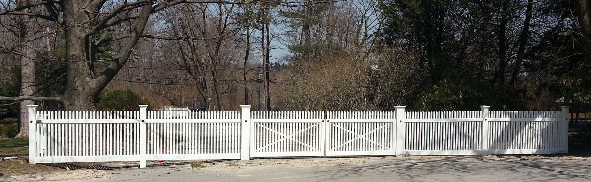 185 - Purchase NY - Country Club Fence & Gate
