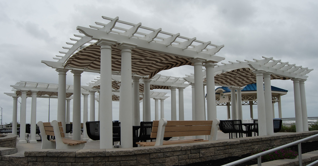 873 - Sea Isle City NJ  - Multiple Arched Pergolas