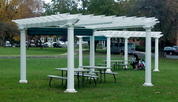 873 - Lingston NJ - YMCA Pergolas