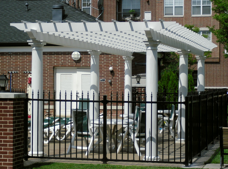 873 - NJ - Pergola at Pool Area