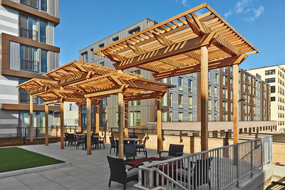 477048 - 538 - Boston MA - Wood Pergola