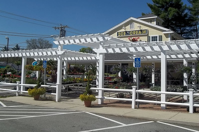 423 - Northboro MA - Hollow Vinyl Pergola