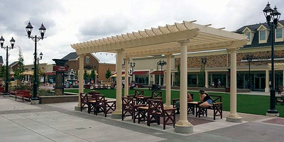 873 - NJ - Commercial Pergola